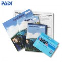 PADI Crewpak OWD Manual z eRDP ML i DVD