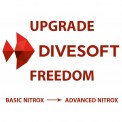 Upgrade Divesoft Freedom Basic NITROX do Adv EAN